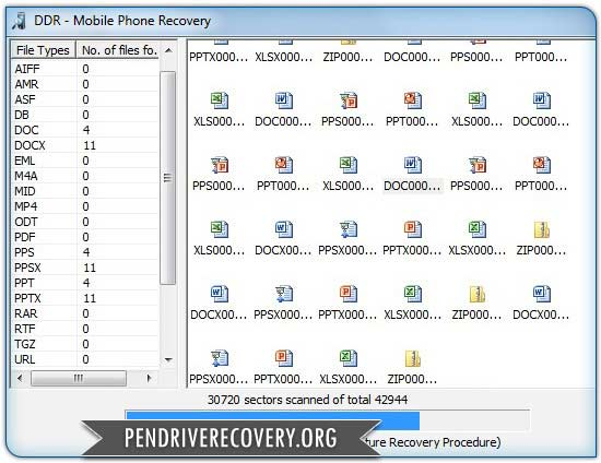 Software successfully restores missing data